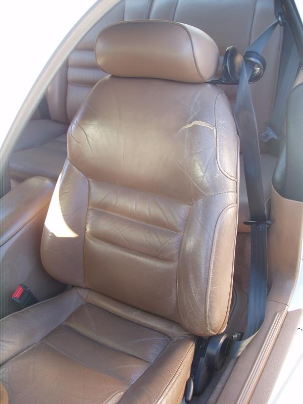 Stock Torn Seat