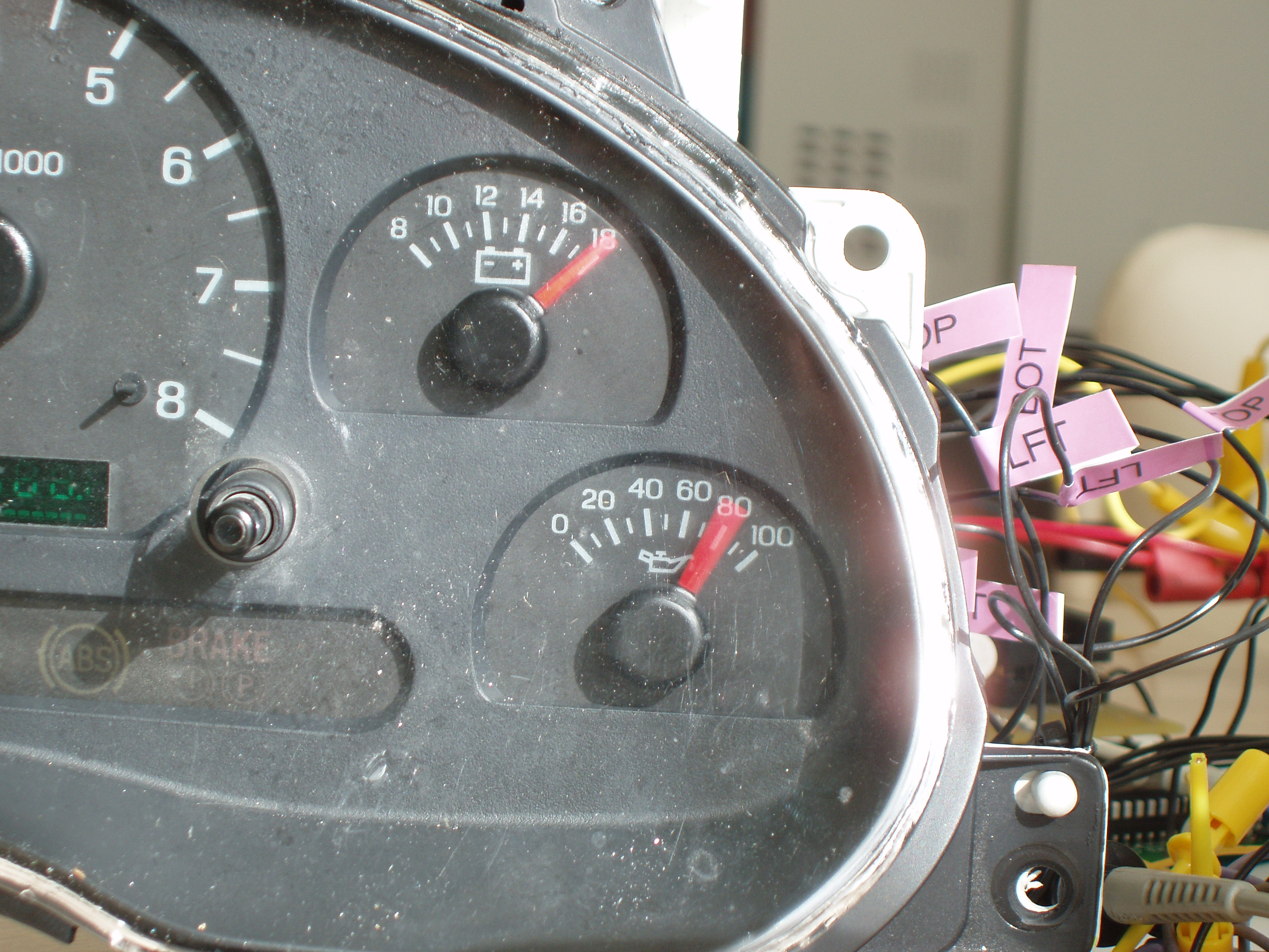 Temp & Oil Pressure Gauges