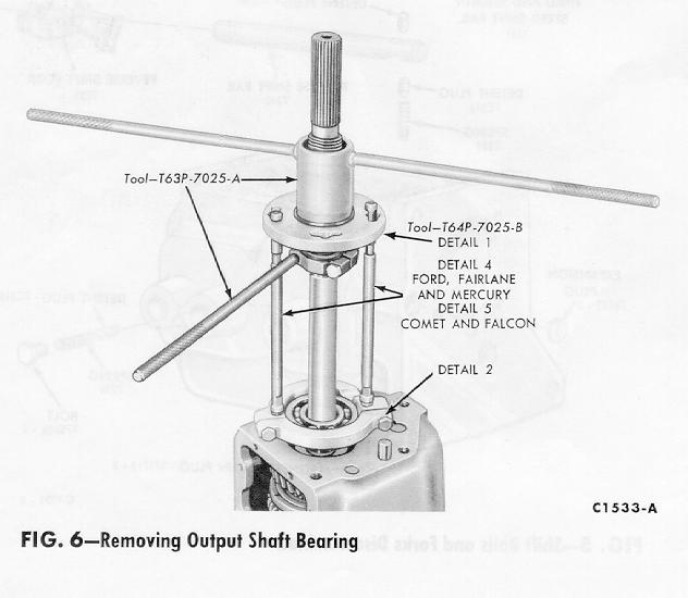ClassicTiger: Ford Toploader Transmission Manual