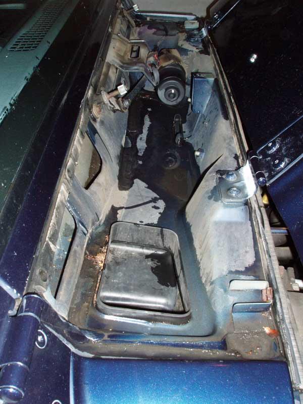 Stripped Plastic Cowl Nuts Caused Leak Jeepforum Com